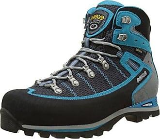 Asolo Finder GV ml, Stivali da Escursionismo Alti Donna, Gris (Grigio/Gunmetal/Bleu Pool A177), 40 2/3 EU
