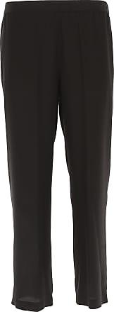 Pants for Women On Sale, Green, Silk, 2017, 28 30 Aspesi