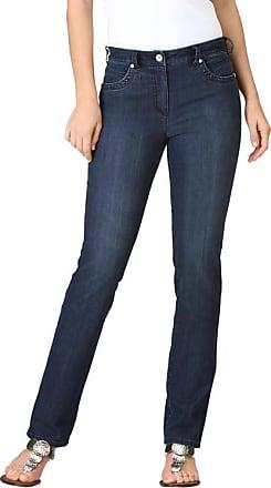 Thermoregulierende Jeans mit Nietendekor blau by Atelier Goldner Schnitt Atelier Goldner Schnitt