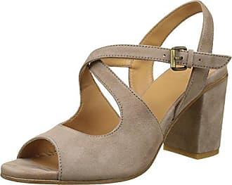 Atelier Voisin Ella-Beige - Zapatos de vestir de tela para mujer, color beige, talla 39