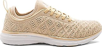 Techloom Pro Sneaker in Metallic Gold. - size 7 (also in 6.5,7.5,8,8.5,9) Athletic Propulsion Labs