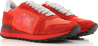 Sneaker Homme Pas cher en Soldes, Rouge, Daim, 2017, 40Atlantic Stars