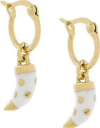 Aurélie Bidermann tooth detail earrings - Metallic