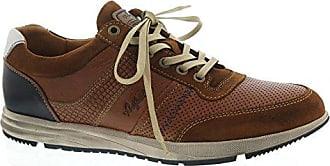 Footwear Sneaker, Grant Leather (Nubuk-/Glattleder), Tan-Blue, Wechselfußb, 15.1266.04, Größe 47 Australian Footware