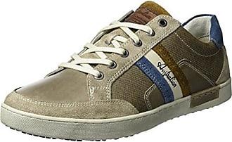 Mellow Leather, Baskets Homme, Bleu (Blue-Tan S12), 44 EUAustralian Footware
