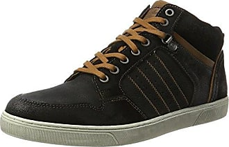 Balmoral Leather, Sneaker a Collo Alto Uomo, Blau (Blue-Black), 41 EU Australian Footware