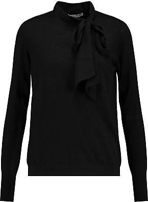 Autumn Cashmere Woman Cape-effect Cashmere Top Black Size XS Autumn Cashmere