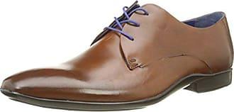 Hook, Chaussures à lacets hommes - Marron (Moka), 45 EUAzzaro