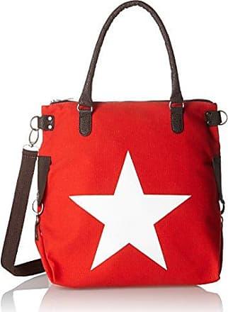 Einkaufstasche Frauen-Handtaschen Palette von Cabas (rot) Pellet