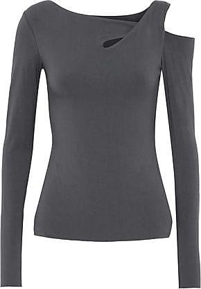Bailey 44 Woman Cutout Stretch-jersey Top Black Size S Bailey 44