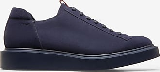 Olivio Blue, Mens calf leather derby-trainer shoe in ink Bally