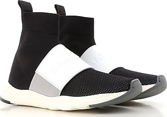 Sneakers for Women On Sale, Black, Leather, 2017, 2.5 4.5 Balmain