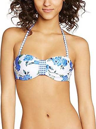 Banana Moon Robo - Haut de maillot de bain - Avec armature - Imprimé complet - Femme - Multicolore (Blanc Toucanbay/Pomtoucan) - 85B (Taille fabricant: 38C)