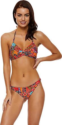 Banana Moon Haut de bikini : Triangle INYO FLOWSAND - Marron