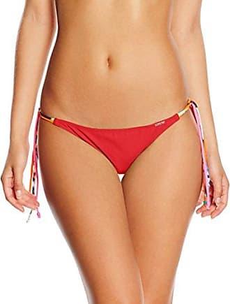 Beach Panties - Haut de maillots - Femme Rouge Rouge - Rouge - Small