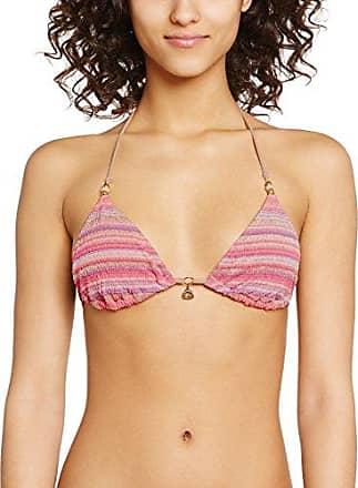 Banana Moon Hapo - Haut de maillot de bain - Push-up - Imprimé complet - Femme - Multicolore (Rose Makena) - 95B (Taille fabricant: 42)