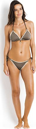 Triangle Bikini Top Crochet Spirit BANANA MOON Khaki - Nuco Ethnichic Banana Moon