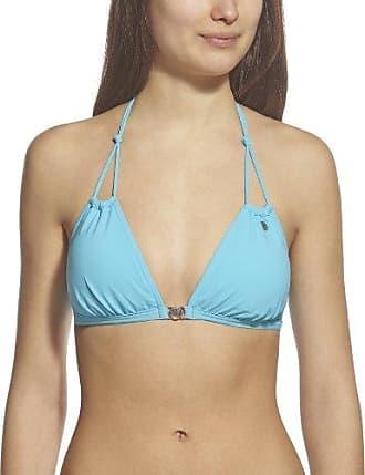 Pour Moi Hot Spots Halter, Tops de Bikini para Mujer, Turquesa (Aqua 148), 90I