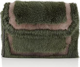 Womens E6 Mink Fur Clutch Baraboux
