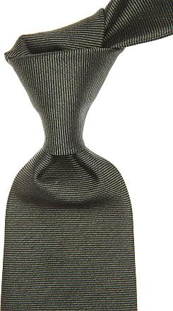 Ties On Sale, Military Green, Silk, 2017, one size Borrelli Napoli