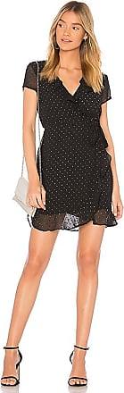 Foil Spotty Dress in Black. - size Aus 8 / US XS (also in Aus 10 / US S,Aus 12 / US M,Aus 14 / US L) Bardot