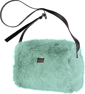 Damen Handtasche Salween Pelztasche 45x38x10 cm - Heather Brown Barts