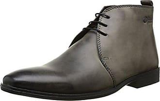 Base London MY01013_Noir - Botas de cuero para hombre, color negro, talla 45