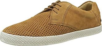Keel, Zapatos de Cordones Derby para Hombre, Beige (Suede Tan 243), 46 EU Base London