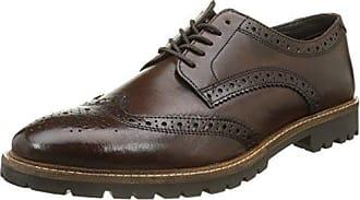 Base LondonBenno - Zapatillas de Estar Por Casa Hombre, Marrón (Marron (Greasy Brown)), 45