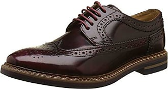 Base London Sneaker Ue 04 20 1 Uomo, Marrone (Marron (Grain bordo)), 43