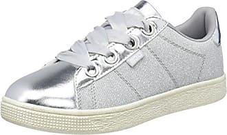 bass3d 41519, Zapatillas para Mujer, Plateado (Silver), 38 EU