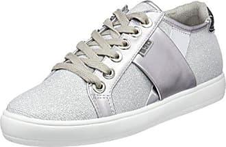 bass3d 41519, Zapatillas para Mujer, Plateado (Silver), 37 EU