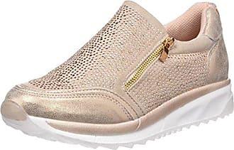 bass3d 41434, Zapatillas Sin Cordones para Mujer, Blanco (Hielo), 37 EU