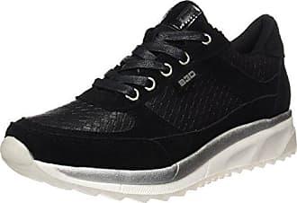 3726306, Sneaker a Collo Alto Donna, Nero (Nero), 42 EU Supremo