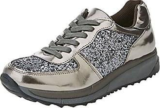 bass3d 041377, Sneaker Donna, Argento (Plomo Plomo), 37 EU