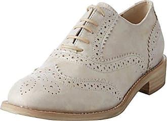 Bata 523482, Zapatos de Cordones Brogue para Mujer, Amarillo (Giallo 8), 39 EU