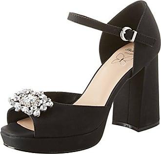 Bata 724196, Zapatos con Tira de Tobillo para Mujer, Negro (Nero 6), 35 EU Bata