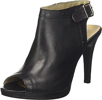 Bata 724187, Zapatos de Tacón con Punta Abierta para Mujer, Gris (Grigio 2), 37 EU Bata