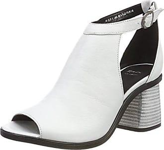 Bata 721250, Zapatos de Tacón con Punta Abierta para Mujer, Negro (Nero 6), 37 EU