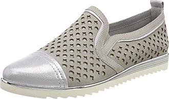 Be Natural 24241, Mocasines para Mujer, Gris (Lt. Grey), 39 EU