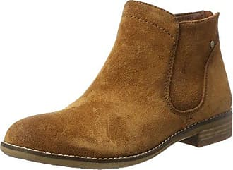 Be Natural 25422, Bottes Chelsea Femme, (Taupe), 41 EU