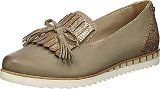 24742, Mocasines para Mujer, Beige (Sand), 42 EU Be Natural