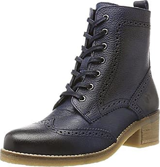 Be Natural Damen 25200 Combat Boots, Grau (Graphite), 40 EU