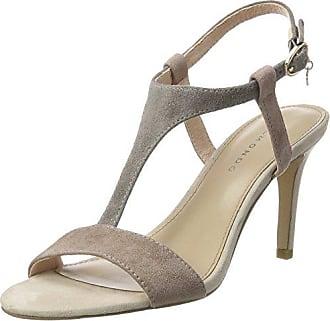Pumps-Damen, Zapatos de Tacón con Punta Cerrada para Mujer, Gris (Antracite Combi 01), 40 EU Belmondo