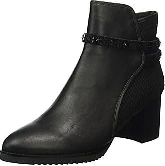 Effect Ankleboot, Bottes Femme, Noir (Black), 39 EUSteve Madden