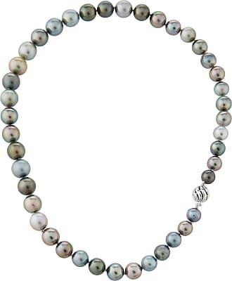Belpearl 14k Spinel, Hematite & Tahitian Pearl Necklace, 42L