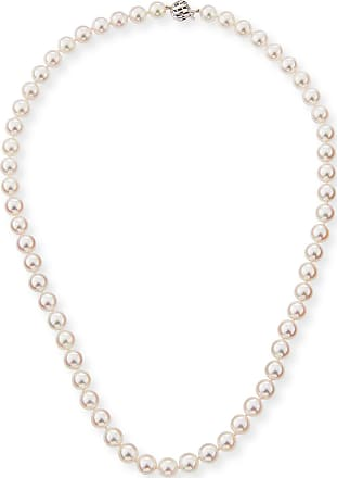 Belpearl 14k Akoya Pearl Necklace, 20L