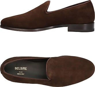 Blue Brenno Suede Penny Loafers BELSIRE MILANO