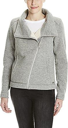 Bench Asymmetric Zip Jacket, Chaqueta Punto para Mujer, Gris (Winter Grey Marl Ma1054), X-Large