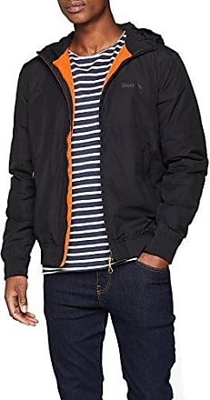 Bomber with Nylon Hood, Chaqueta para Hombre, Negro (Black Beauty Bk11179), Large Bench